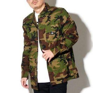 NWT Vans Fullerton Mens Camouflage Military Jacket